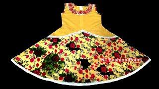 2018 High Quality Summer Beautiful Model Little Girl Dresses | Cute Baby Stylish Dress Designs
