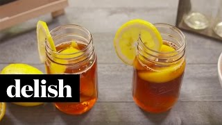 Magnolia-Inspired Spiked Sweet Tea | Delish + Country Living