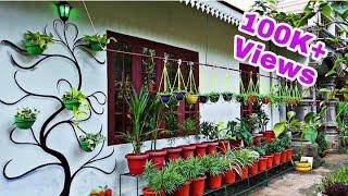 Garden Makeover / Hanging Plants Ideas / Garden Design / Garden Crafts / Garden Arts /Hanging Plants