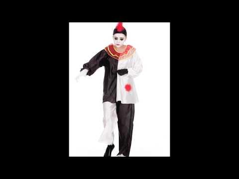 Disfraz De Pierrot de mujer.
