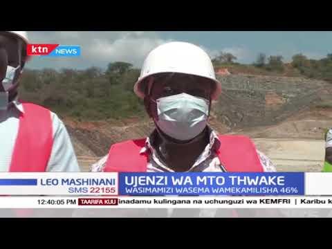 Ujenzi wa mto Thwake: Harakati za kusafisha mto Thwake kaunti ya Makueni zaanza