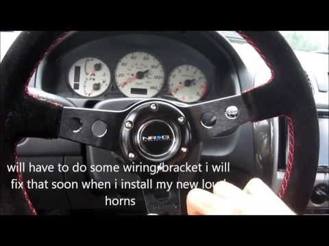 Mazda Mods Episode 15: NRG deep dish wheel,Hub,an Quick release/How to install/Review