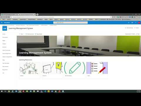 Build a Learning Management System in SharePoint