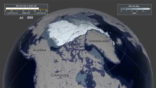 The age of Arctic sea ice