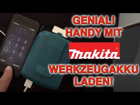 Vorstellung Makita Akku-USB Adapter, DEAADP05