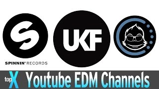 Top 10 YouTube EDM Channels  -  TopX Ep.27
