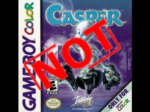 casper game boy color cheats