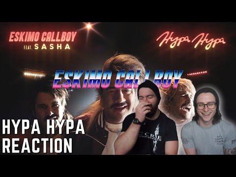 Two Guitar Noobs React to ESKIMO CALLBOY feat. SASHA | HYPA HYPA