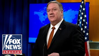 Pompeo addresses coronavirus news, Venezuela relations in press briefing