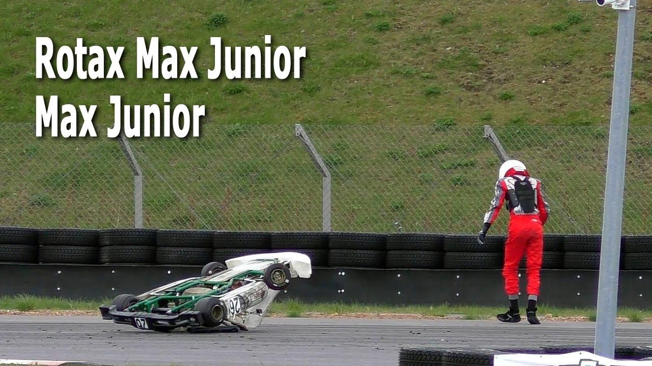 Картинг 2020. Предфинальный заезд Rotax Max Junior, Max Junior. 08.05.2021, РСТЦ ДОСААФ