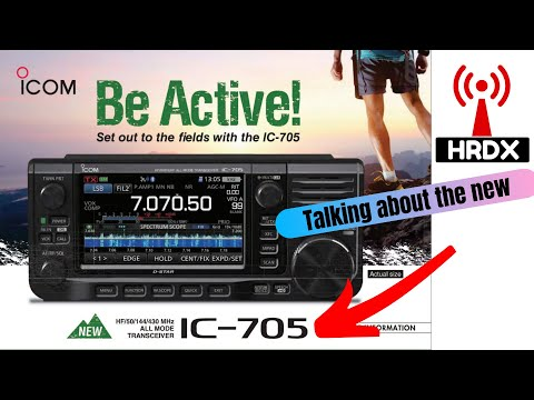 The Icom IC-705! HF-UHF SDR Radio - An initial review