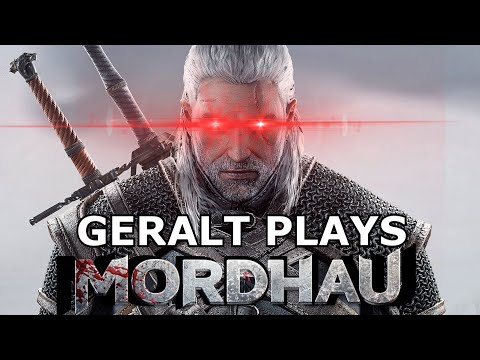 The Witcher Plays Mordhau