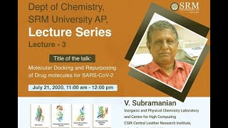 Chemistry Department – Lecture 3