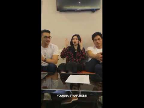 Afgan Isyana Rendy Pandugo (A.I.R) Live Instagram GenFM #190218 - Your RaIsyanationn
