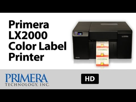LX2000 Color Label Printer