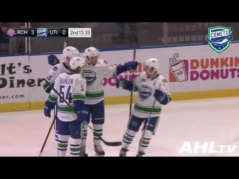 [UTI] Olli Juolevi's first AHL goal