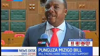 PUNGUZA MZIGO BILL: Bill rejected in Nakuru County Assembly