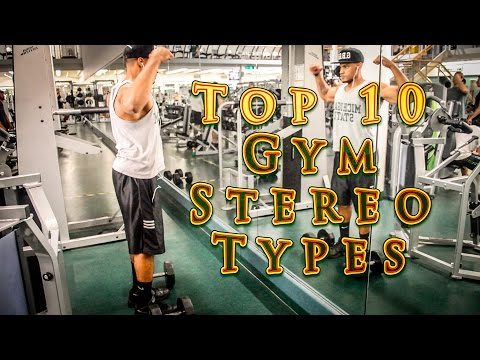 Top 10 Gym Stereotypes | MSU Rec Sports and Fitness (видео)