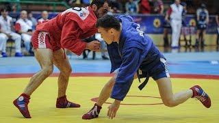 Самбо Чемпионат Европы 2015 Лучшие моменты второго дня