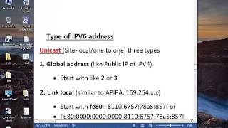 Understating IPv6 basic in HINDI by Aditya (v-9)
