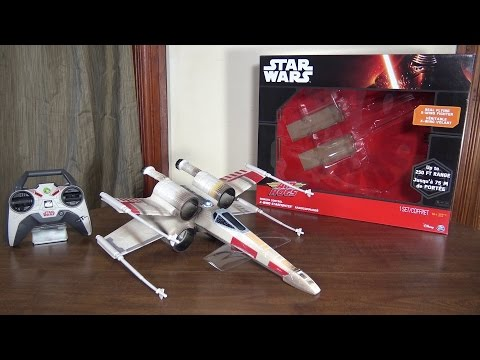 Air Hogs – Star Wars X-Wing Starfighter – Review and Flight (with How To Fly tips)