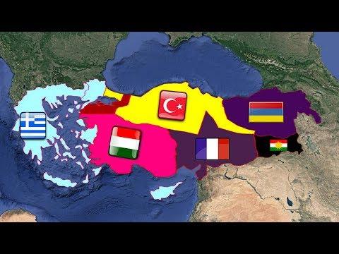Türkiye  Sevr Sınırlarında Olsaydı?