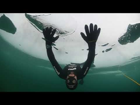 Freediving under the Ice