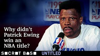 Patrick Ewing never won an NBA championship. Here's what left him empty-handed. thumbnail