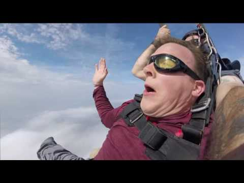 Skydiving with FOX 17 Morning News