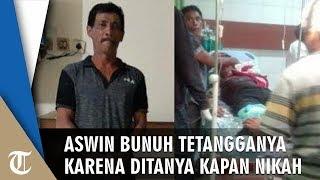 Ditanya Kapan Nikah, Pria 52 Tahun Bunuh Tetangganya