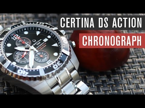 Certina DS Action Chronograph | Test | Review | Deutsch