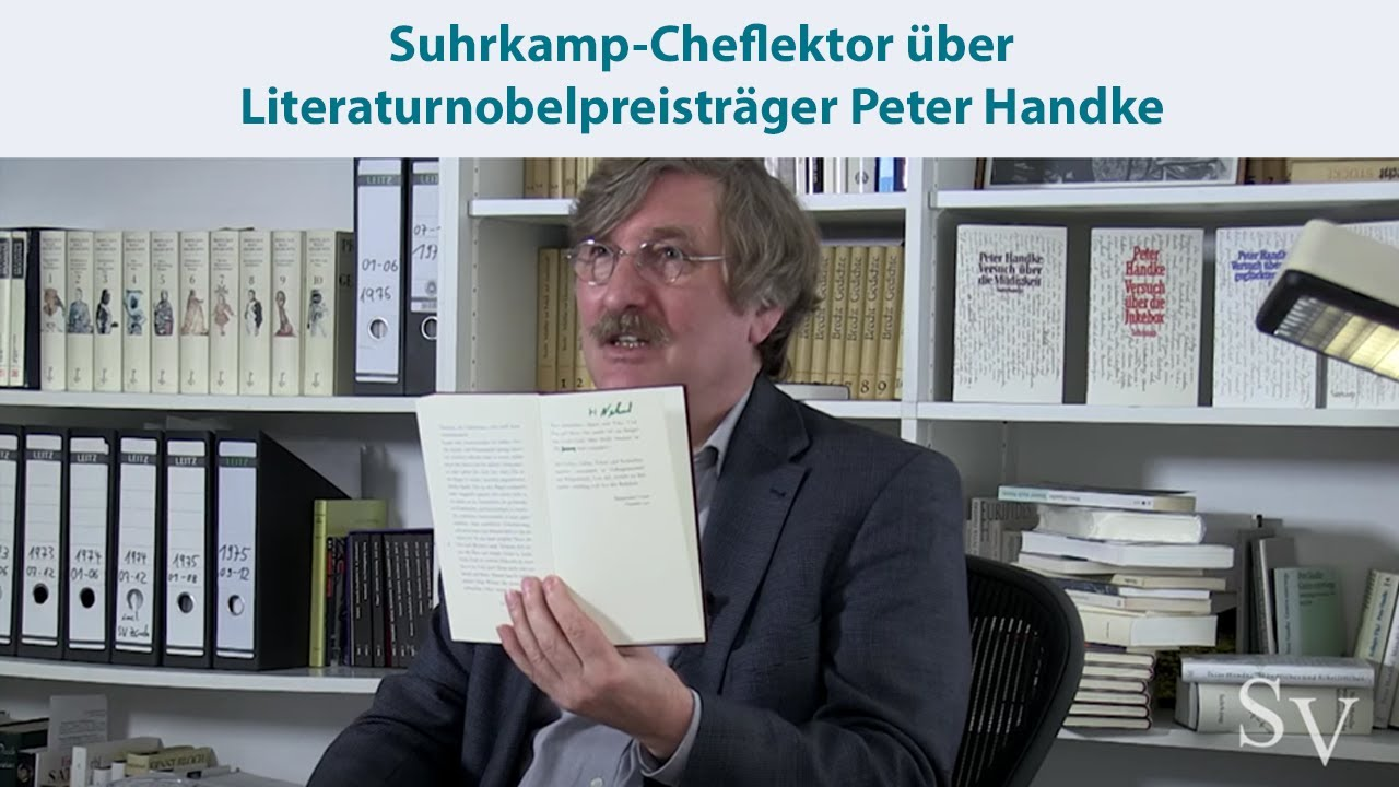 Literaturnobelpreisträger Peter Handke und der Suhrkamp Verlag