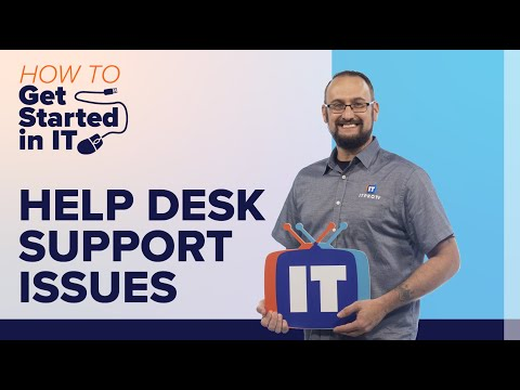 Top 10 Help Desk Support Issues   How to Get Started in IT - YouTube