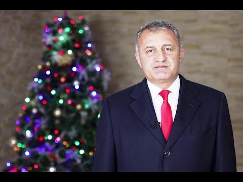 Новогоднее обращение Анатолия Бибилова к народу Республики Южная Осетия