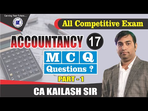 [17] MCQ questions-1 | Accountancy for all competitive exams ...