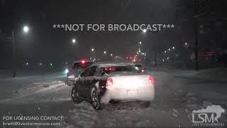 2-17-2019 - Des Moines, Iowa - Winter Storm Haults Traffic