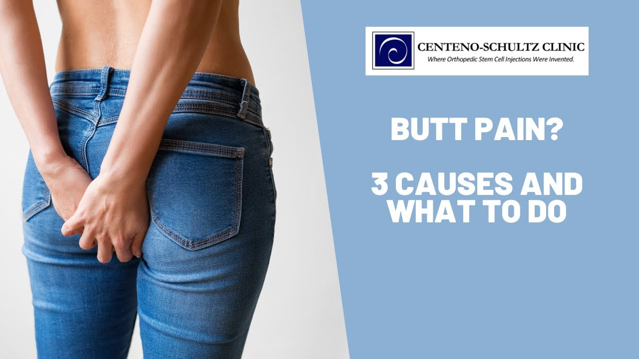 Colorado Stem Cell Therapy maxresdefault - What's Causing My Butt Pain?