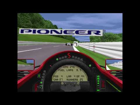 MicroProse Grand Prix 2 By Geoff Crammond Belgian Grand Prix Round 11 (F1 1994)