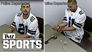 Dallas Cowboys Fan Breaks Handcuffs, Escapes Police...In Ezekiel Elliott Jersey | TMZ Sports