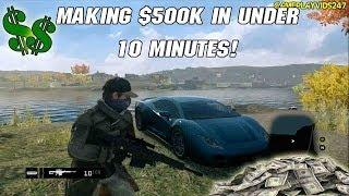 "Watch Dogs Money Glitch: MAKE 500K IN UNDER 10 MINUTES! - MAKE MILLIONS HOURLY ""Watch Dogs Money"""