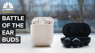 Are Apple's AirPods Better Than Samsung's Galaxy Buds?