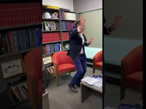 Prof Stephen Davis steps up to the World Stroke Day Global Dance Chain Challenge