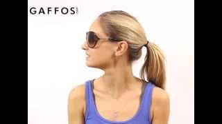 Tom Ford TF76 Raquel 199 Shiny Black Plastic Sunglasses Grey Gradient Lens