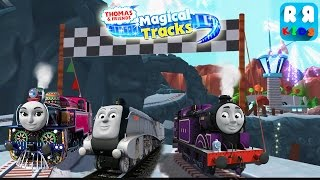 Ryan Race with Spencer and Ashima | Thomas and Friends: Magical Tracks - Kids Train Set