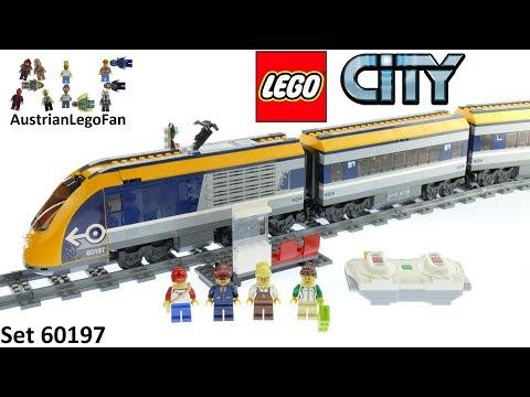 Vidéo LEGO City 60197 : Le train de passagers télécommandé
