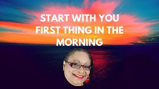 Start with YOU in the morning