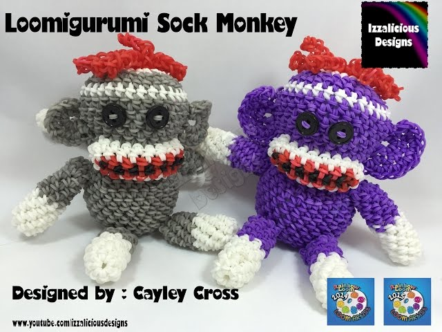 Loomigurumi-sock-monkey-hook