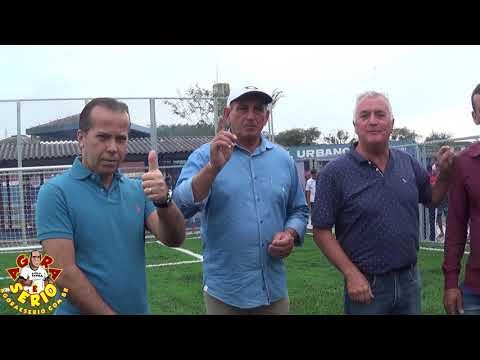 Prefeito Ayres Scorsatto faz a Inauguração Oficial da Quadra de Grama Sintética no Csu