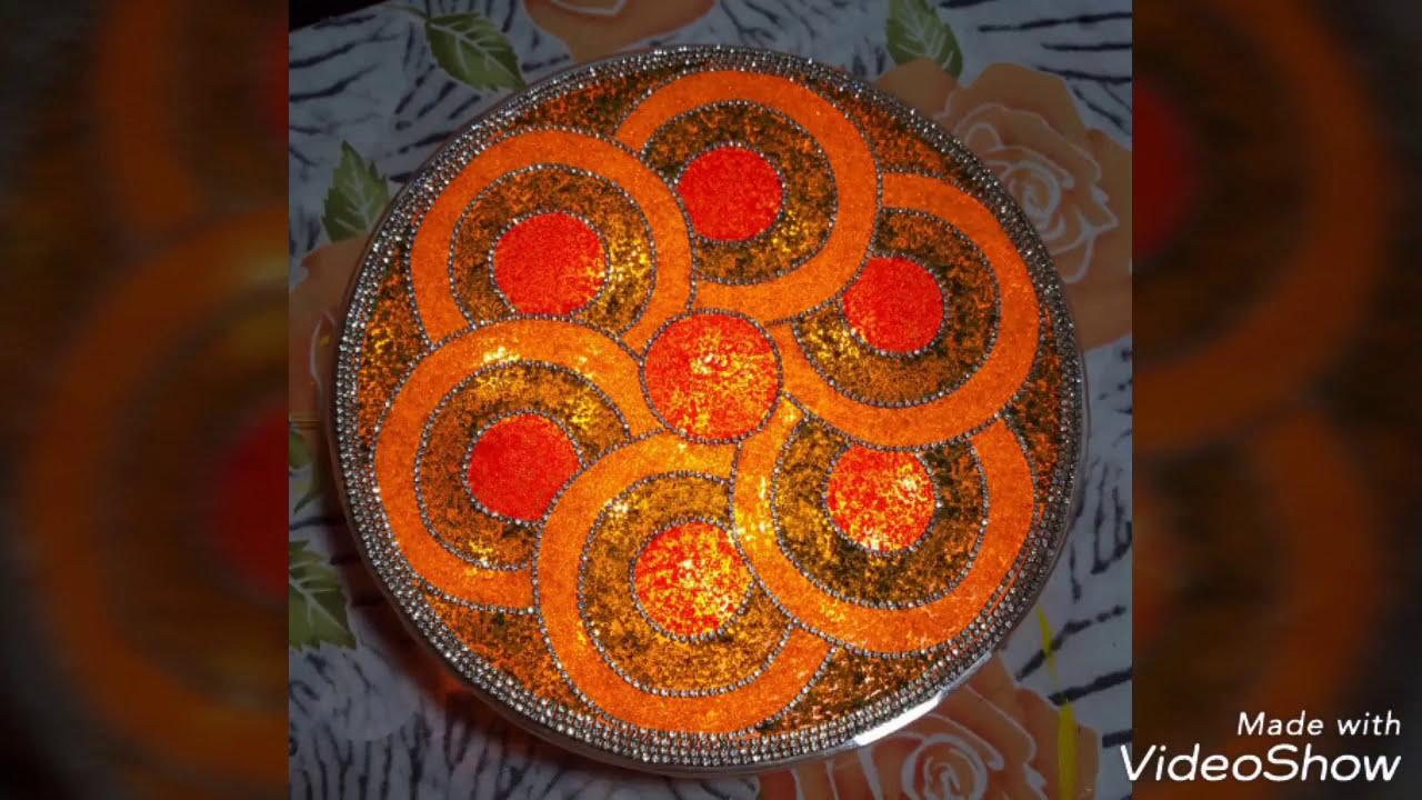 acrylic rangoli designs by abc craft