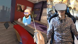 AMAZING SOCIAL EXPERIENCE IN VIRTUAL REALITY! | Oculus Rooms VR (Oculus Go Gameplay)
